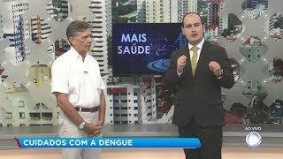 Médico alerta sobre os cuidados para prevenir a dengue