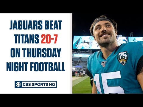 Video: Gardner Minshew throws DIMES, leads Jaguars past Titans on Thursday Night Football | CBS Sports HQ