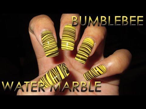 nail art - nuovo stile con il marble