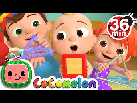 The Shapes Song +More Nursery Rhymes & Kids Songs - CoCoMelon