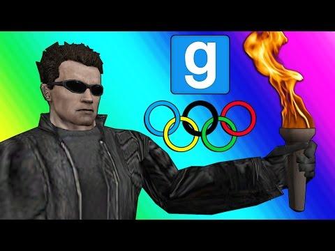 Gmod 2016 Olympics! (Garry's Mod Sandbox Funny Moments) (видео)