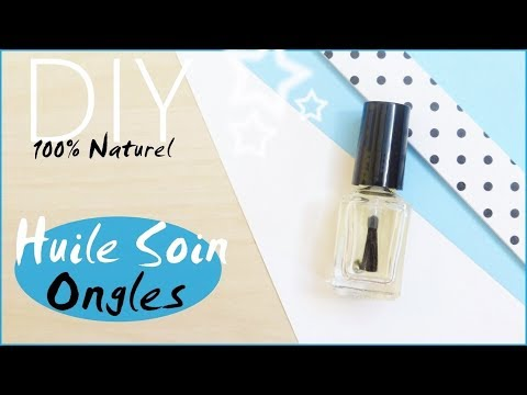 DIY • Huile Soin Ongles & Cuticules !💅