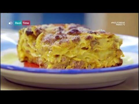 lasagne con zucca e salsiccia - ricetta