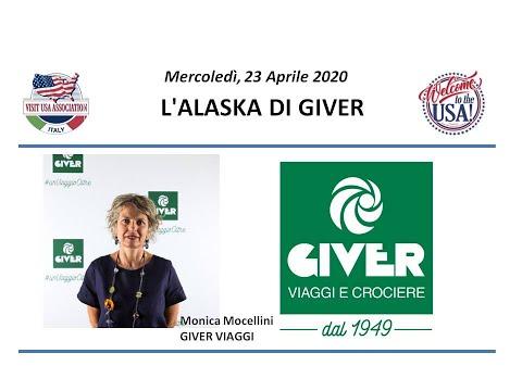 Video L'ALASKA DI GIVER (23-4-2020)