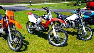 6. Honda Cr 250 vs Yamaha Yz 250!!!