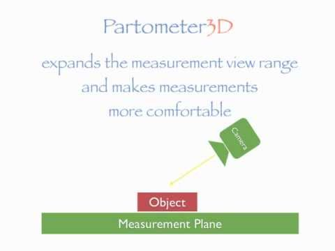 Video of Partometer3D - photo measure