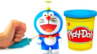 Doraemon Stop Motion Play Doh animation claymation video ドãƒ...