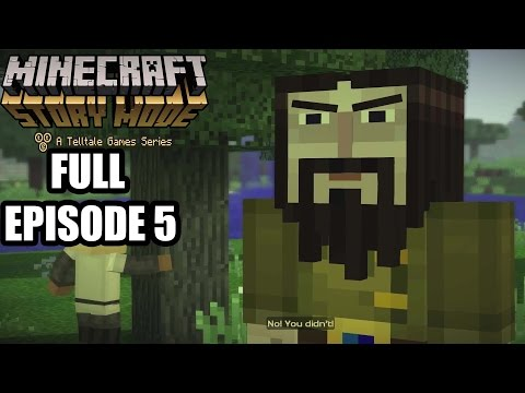 Minecraft Story Mode FULL Episode 5 - Gameplay Walkthrough  - No Commentary