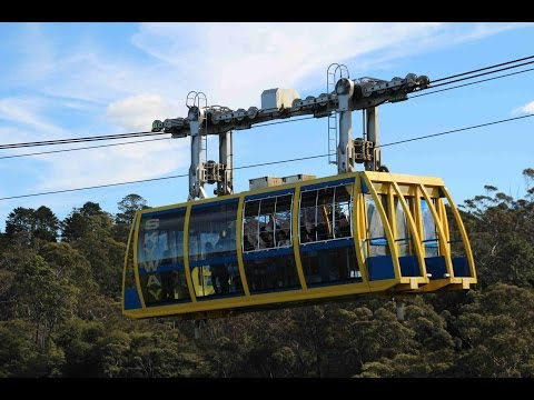 2013 Mai Scenic World Blue Mountains Aus (видео)
