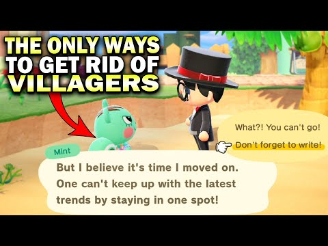 The Best & Only Ways To Get Rid Of Villagers In Animal Crossing New Horizons