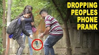 Dropping Peoples Phone Prank | Baap of Bakchod- Raj Khanna