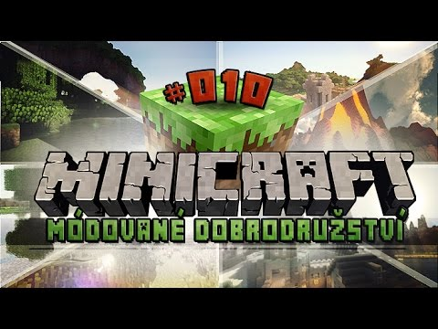 Minecraft MiniCraft ►DINO PORTÁL?!◄ Ep.#10