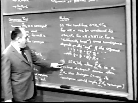 Unit VII: Lec 2 | MIT Calculus Revisited: Single Variable Calculus