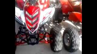 9. 08 yamaha raptor 700r GYTR edition and start up of gt 80