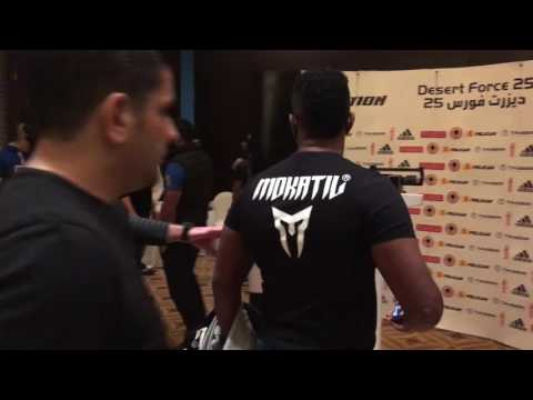 Desert Force 25 - Osama Al Saiedy Vs. Mostafa Rashed Brawl
