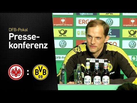 Pressekonferenz mit Thomas Tuchel nach dem Pokalfinale | Eintracht Frankfurt - BVB 1:2