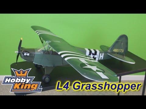 L4 Grasshopper (1400mm Wingspan PNF RC Plane)