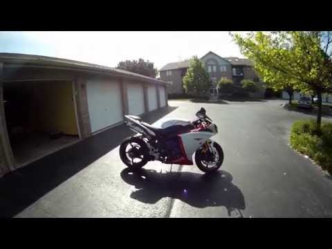 Motorcycle vs Deer - Yamaha R1 Cuts Deer in Half, Motorcycle Crash Aftermath