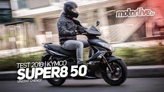6. KYMCO SUPER 8 50 EURO 4 | TEST