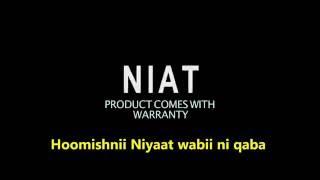 Korporeeshinii Hoomisha Niyaat by NIATProducts.com. Ethiopian Mitad, Eritrean Mitad, Injera Making
