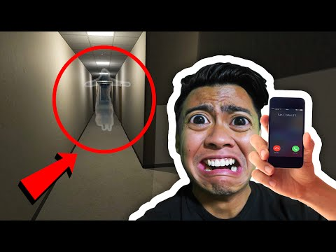 GHOST CAUGHT IN HALLWAY! | Nighttime Visitor (видео)
