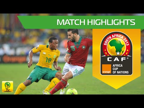 Morocco - South Africa | CAN Orange 2013 | 27.01.2013
