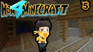IT'S A MINESHAFT | How To Minecraft S4 Ep. 5