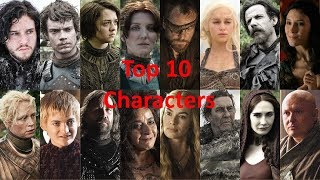 Hope you enjoyed my top 10 favorite characters from season 1 of GoT.. If you did be sure to leave a like and comment your own...