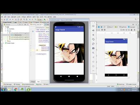 How To Add Images To Android App In Android Studio[Tutorial] !