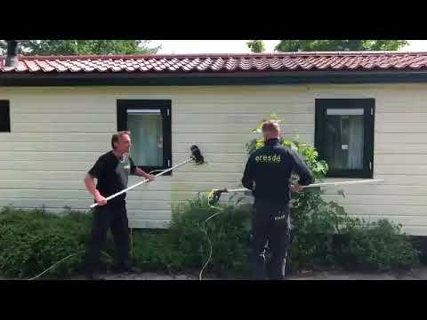 Reinigen 170 vakantie chalets op Texel