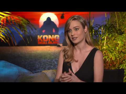 Kong Skull Island Interview - Brie Larson