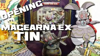 Opening a Pokemon TCG Magearna EX Battle Heart Tin - Steam Siege, Ancient Origins, and Primal Clash! by Flammable Lizard