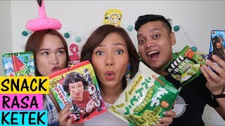 Video Buset Makan Snack Jepang Rasa Ketek! feat Rando & Felozeli MP3, 3GP, MP4, WEBM, AVI, FLV April 2019