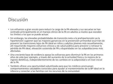Heterogeneidad en la transición de presión arterial a lo largo de la vida. Dra. Carolina Pappalettere. Residencia de Cardiología. Hospital C. Argerich. Buenos Aires
