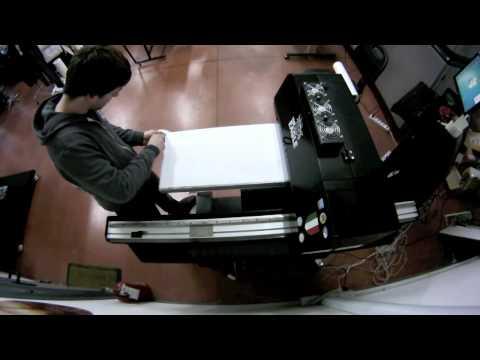 The Eagle UV : stampa della griglia di posizionamento