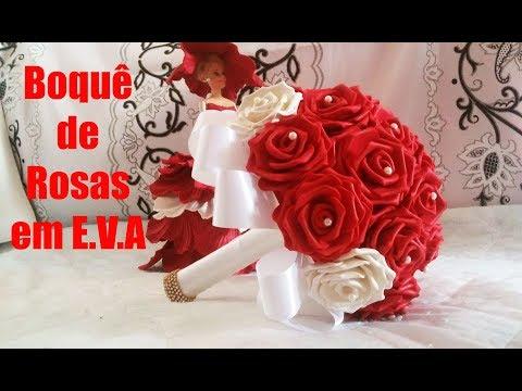 Buquê Noiva de Rosas