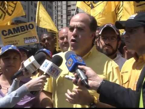 Juio Borges: Primero Justicia siempre ha estado resteado con el voto y deslindado de la violencia