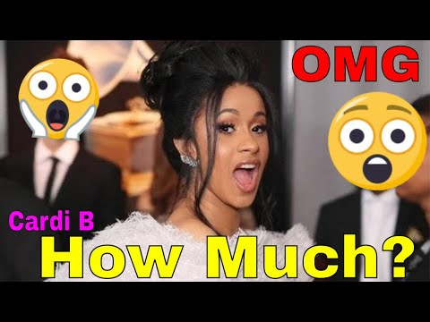 [OMG] How Much is Cardi B Getting Paid at Coachella 2018
