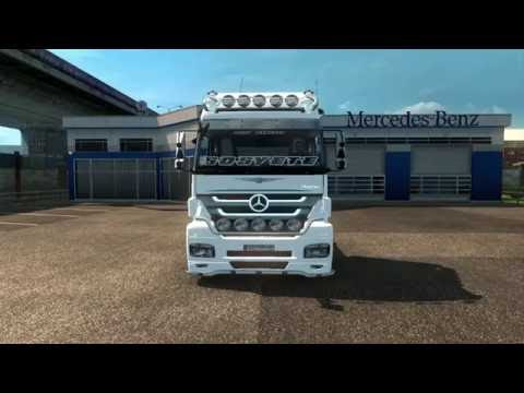 Turkish Job Mercedes Benz Axor