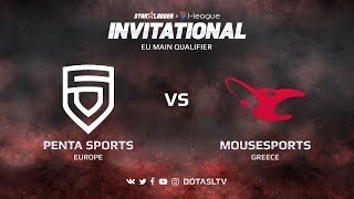 Penta Sports против Mousesports, Вторая карта, EU квалификация SL i-League Invitational S3