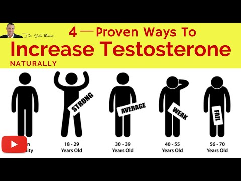 ♂ 4 Clinically Proven Ways To Increase Your Testosterone Levels, Naturally