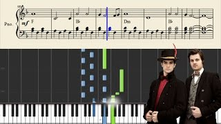 Panic! At The Disco: Northern Downpour - Piano Tutorial + Sheets