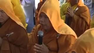 Cảm Tưởng Ân Sư Nhân Lễ Cúng Dường Trai Tăng Chùa Linh Nghĩa -Thích Trừng Sỹ