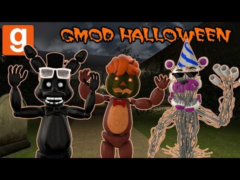 Garrys Mod - ZANY GMOD HALLOWEEN SERIES 2018 PREMIERE!  Garry's Mod Hide & Seek  Zany Gmod #66