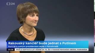 Sebastian Kurz je na jednání s Vladimirem Putinem