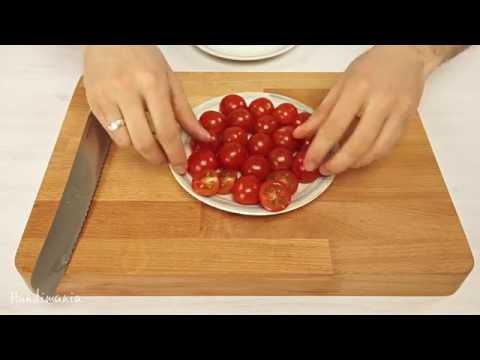 Ako nakrájať 20 cherry paradajok za 5 sekúnd?