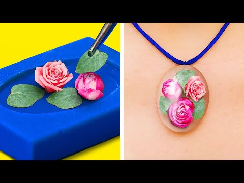 25 Cute Epoxy Resin And Hot Glue DIYs You Will Love