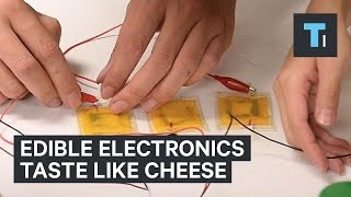 Edible Tech Tastes Like Cheese