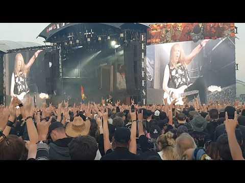 Iron maiden hellfest 2018 concert complet