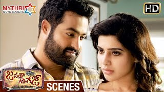 Video Jr NTR and Samantha's Love Affair Gets Revealed | Janatha Garage Telugu Movie Scenes | Mohanlal MP3, 3GP, MP4, WEBM, AVI, FLV September 2018